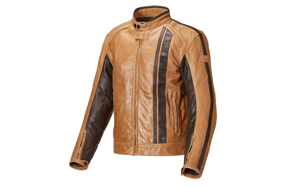 Triumph Raven Tan Jacket Experience Motorcycles